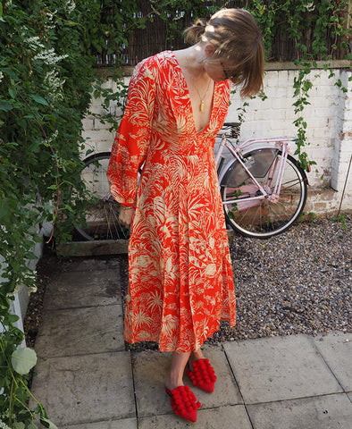 Camellia Oriental Jungle Dress