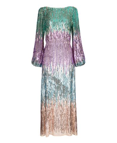 Coco Multi Sequin Midi Dress