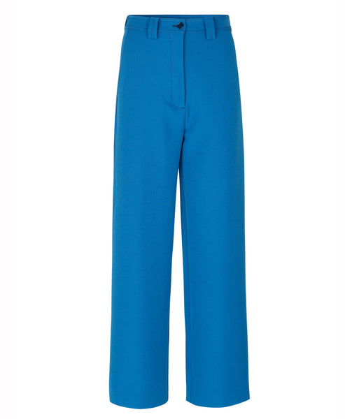 Stine Goya - John Tailored Pants Blue Straight Leg - Studio B Fashion