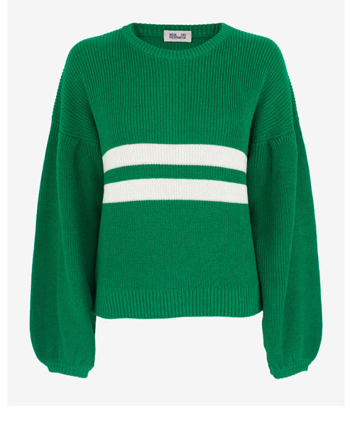 Baum und Pferdgarten-Celeste Jolly Green Knit Jumper-Studio B Fashion