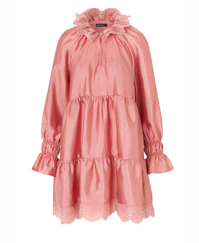 Stine Goya Daki Dress Embroidered Rose