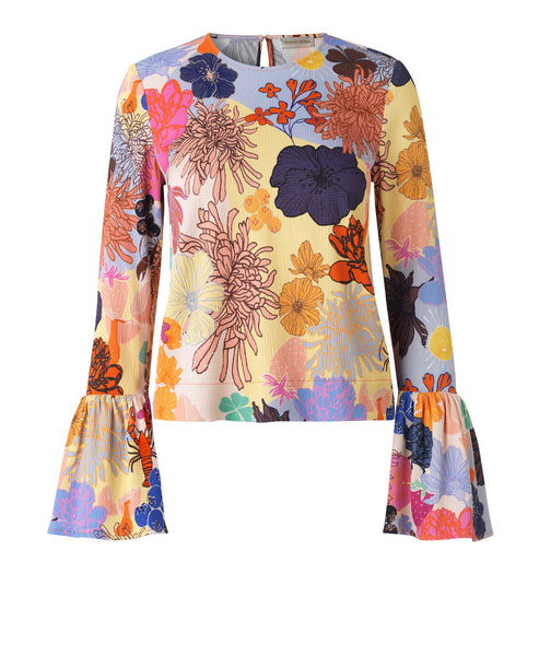 Stine Goya - Emma Top Multi Colours and Shapes - Bold Prints & Statement Silhouettes - Studio B Fashion