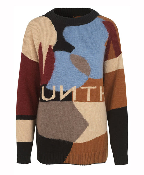 Munthe. Esme Knit Munthe Logo Sweater Show Piece. Studio B Fashion