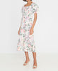 Faithfull De Christin Midi Dress Venissa Floral