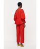 Stine Goya. Ferrah Dropped Shoulder Top Red. Studio B Fashion