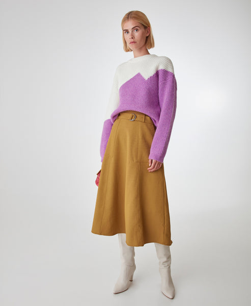 Gestuz. Iris Orchid GallieGZ Knitted Jumper. Studio B Fashion - Gestuz SS20 Pre Collection
