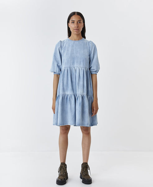 Gestuz. Light Blue SammiGZ Denim Dress. Studio B Fashion