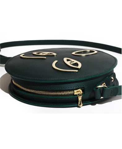 Awe Green Satchel
