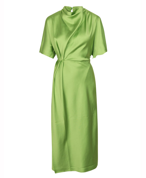 Stine Goya. Rhode Dress Sherbet Bright Green. Studio B Fashion