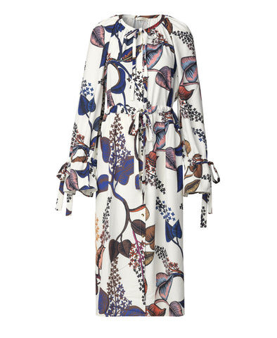 Jacques Dress Lilacs Botanical Print