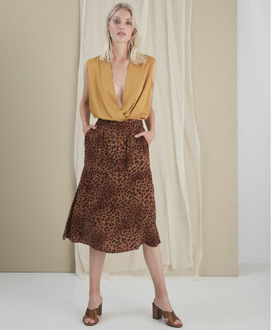 Jane Brown Leo Skirt