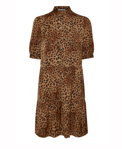 Jane Brown Leo Tiered Dress