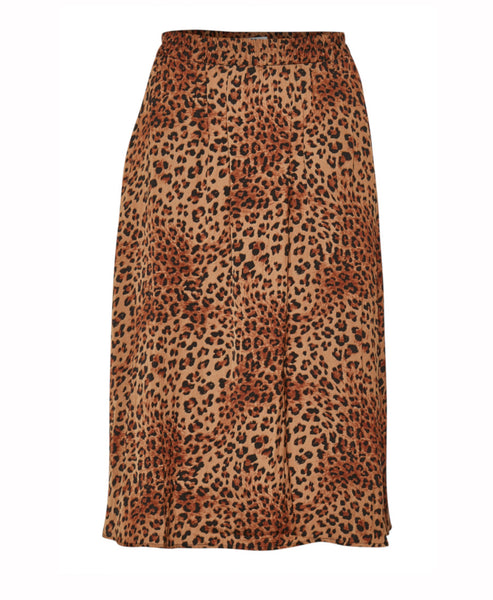 Gestuz - Jane Brown Leo Tiered Skirt - Studio B Fashion