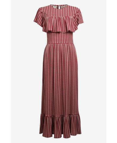 Jannie Gingham Check Dress