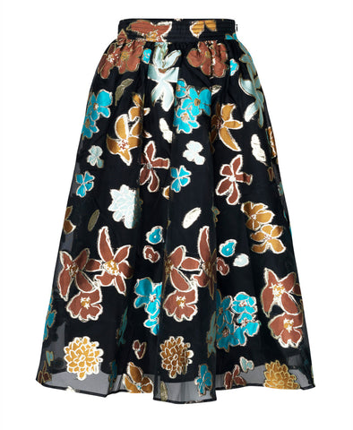 Stine Goya Laila Skirt Flower Garden Autumn