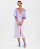 Sleeper. Loungewear Dress in Lavender. Studio B Fashion
