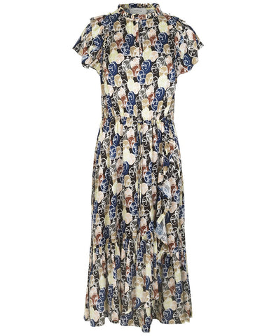Munthe Elect Dress Faces Print