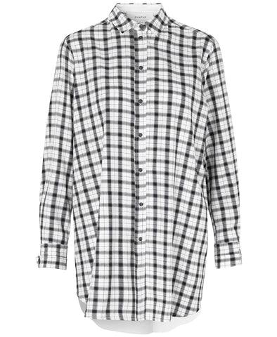 Munthe Jonathan Oversized Checked Shirt
