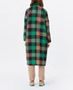 Munthe. Talinum Coat Green Check Brushed Wool. Studio B FashionMunthe. Talinum Coat Green Check Brushed Wool. Studio B Fashion