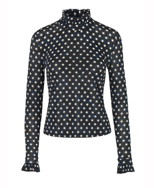 Stine Goya - Stine Goya Manilla Jersey Top Stars Black  - Studio B Fashion