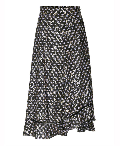 Stine Goya - Marigold Skirt Stars Black Gold Dots - Studio B Fashion