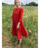 Justine Tabak - Marmalade Corduroy Mill Town Dress - Studio B Fashion