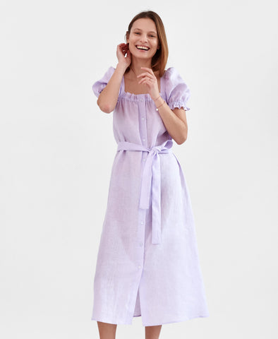 Sleeper Maxi Dress Brigitte in Lavender