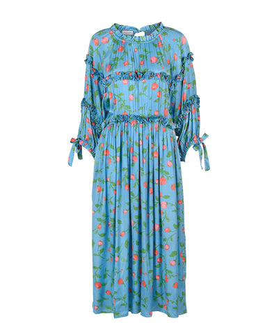 Hofmann Mirielle Pacific Blue Print Dress