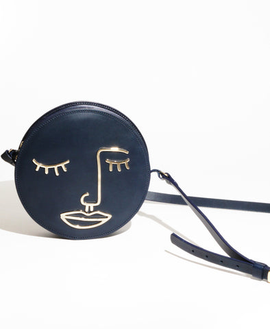 Sorrow Navy Satchel