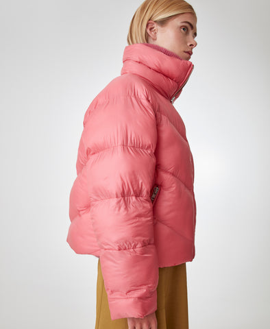 Gestuz Rapture Rose Joylee Puffa Jacket