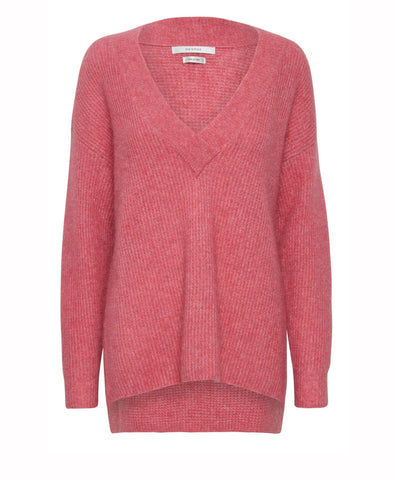 Gestuz Rapture Rose Brenda Knitted V Pullover