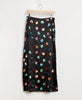 Rixo-Kelly Sequin Watercolour Spot Black Pastel Skirt-Studio B Fashion