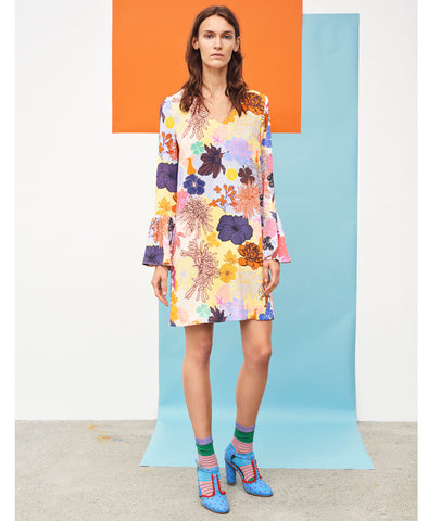 Rosie Dress Multi Colours and Shapes