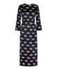 Sheena Space Age Spot Midi Dress