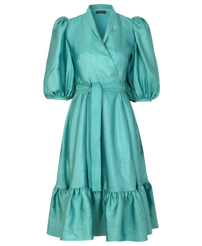 Stine Goya Chinie Dress Aqua