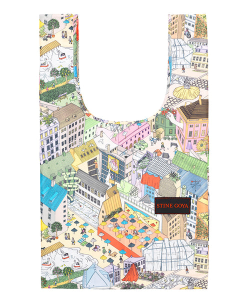 Stine Goya. Idunn Bag in City Print. Studio B Fashion