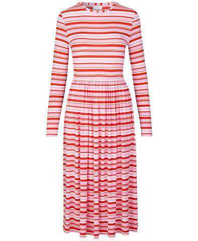 Stine Goya Joel Dress Stripes Pink