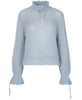 Stine Goya - Peace Knit Sweater Light Blue - Studio B Fashion