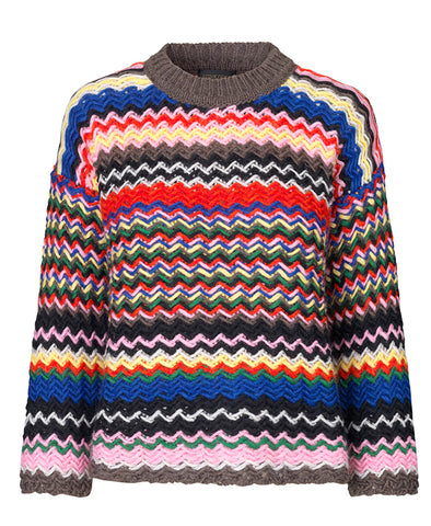 Stine Goya Rebeka Sweater Knit Multicolour