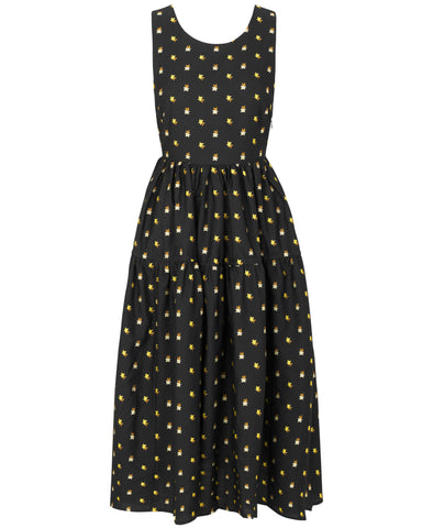 Stine Goya Tulula Dress Jasmine Ochre Print