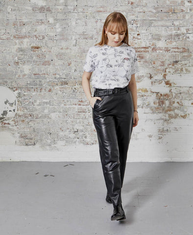 Gestuz Black StoriaGZ Leather Pants
