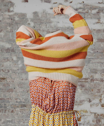 Kalle Knit Sweater Stripes Soft