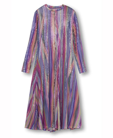 Résumé Copenhagen Tai Rainbow Sequin Dress