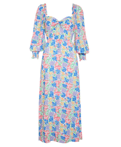 Faithfull Mathilde Midi Dress Jemima Floral Print