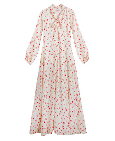 Stella Maxi Dress Love Heart