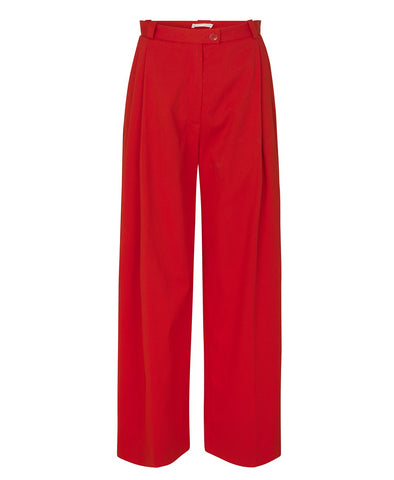 Stine Goya Chet Tailored Pants Red