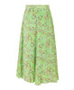 Stine Goya. Marigold Asymmetric Skirt Hearts Green. Studio B Fashion