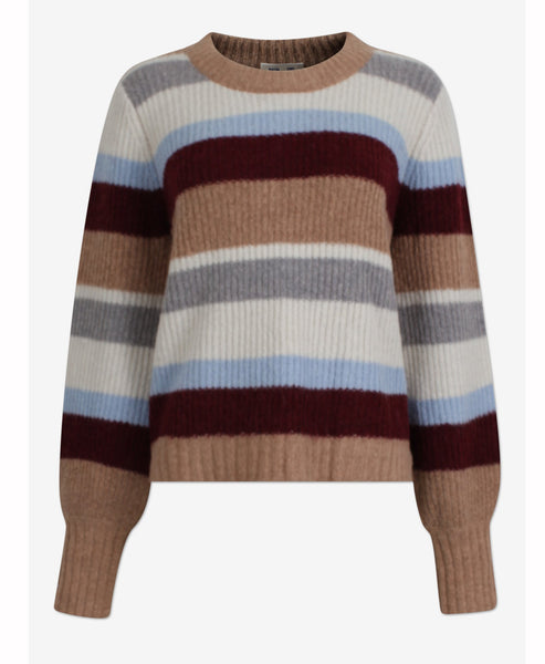 Baum und Pferdgarten - Cortney Knitted Jumper Autumn Stripe - Studio B Fashion