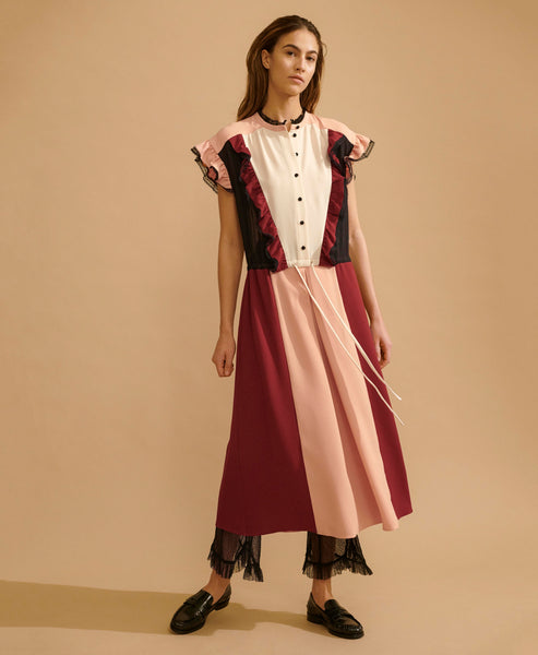 Hofmann Copenhagen. Magritte Wild Berry Midi Dress. Studio B Fashion