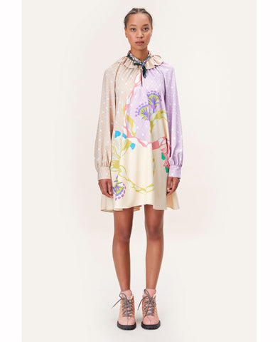 Stine Goya Vini Dress Nile Pastel Print